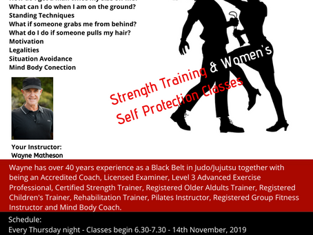 Strength Training & Womens Self Protection