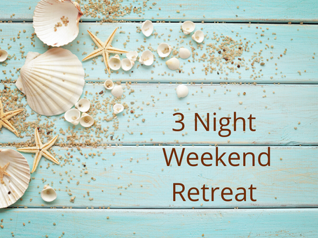 3 Night Weekend Retreat