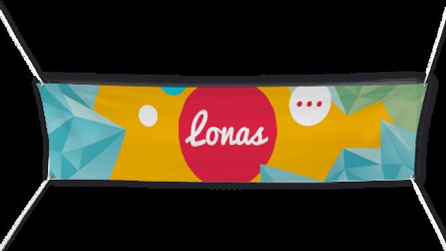 Lona personalizada
