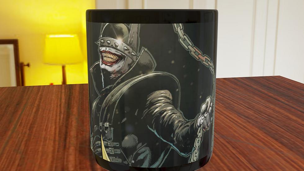 Caneca Tarja Preta Batman que ri