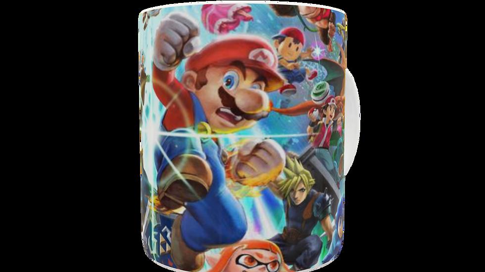 Caneca Personagens da Nintendo