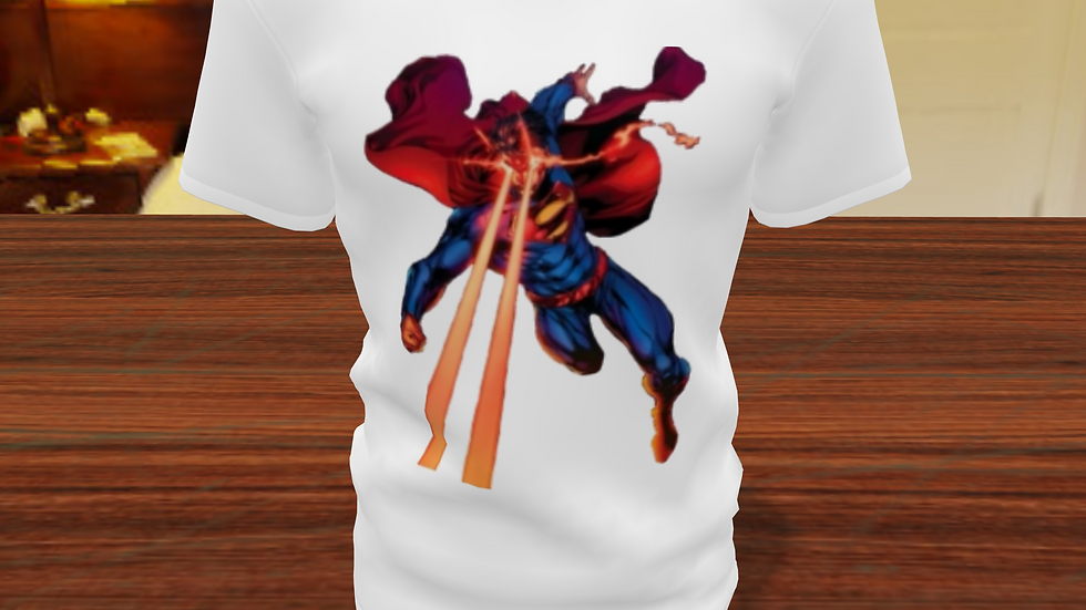 Camiseta Tradicional Superman