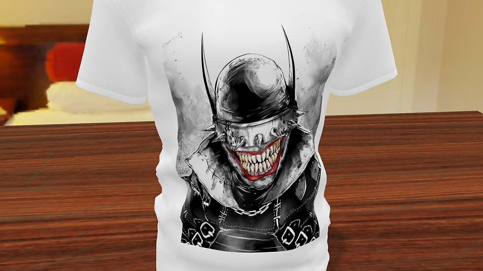 Camiseta Tradicional Batman que ri