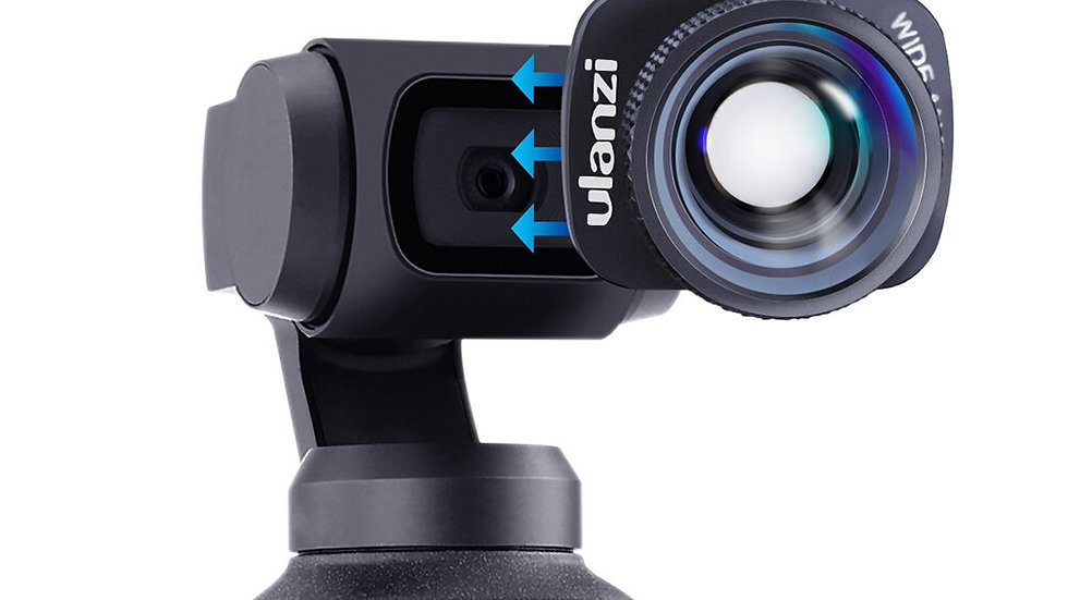 Ulanzi Magnetic 4K HD Large Wide-Angle Lens 1.33X Anamorphic Lens for DJI Osmo P