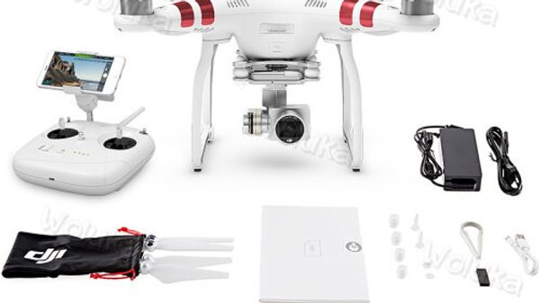 DJI Quadcopter Phantom 3 Standard Drone With 4K HD Camera & Gimbal RC Kit