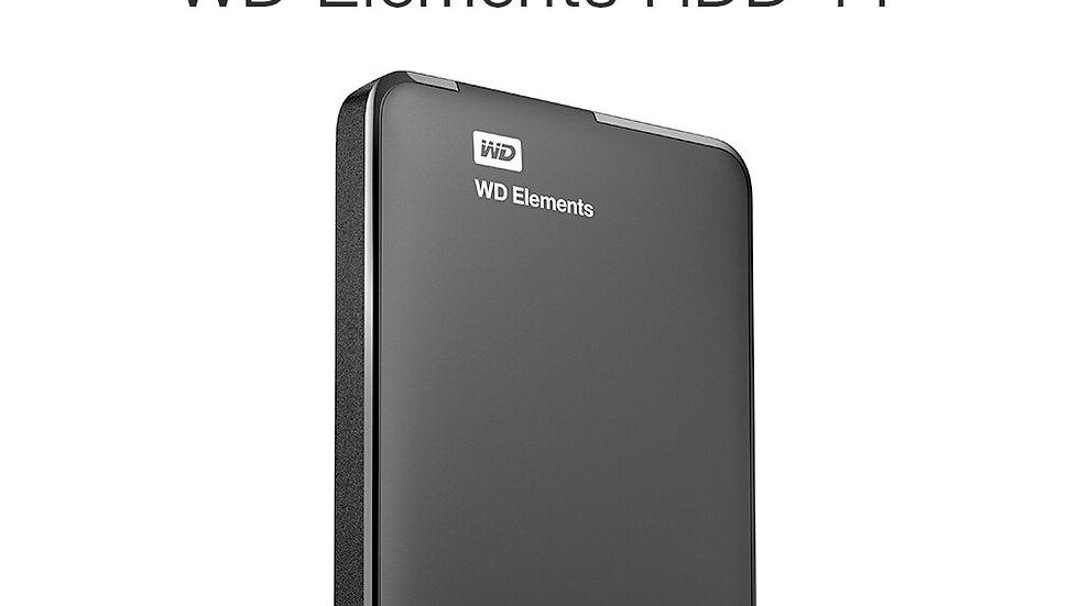 Western Digital WD Elements Portable External Hdd 2.5 USB 3.0Hard Drive Disk