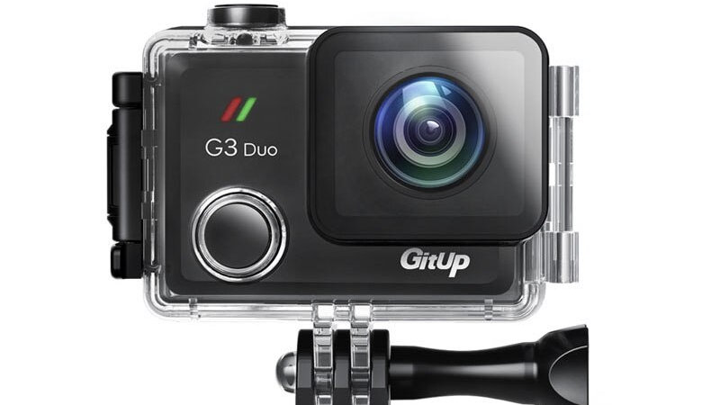 Gitup G3 Duo 90 Degree Lens Action Camera 2K 12MP 2160P Sport Action Camera 2.0""