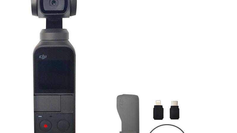 DJI Osmo Pocket the Smallest 3-Axis Stabilized Handheld Camera Original Brand Ne