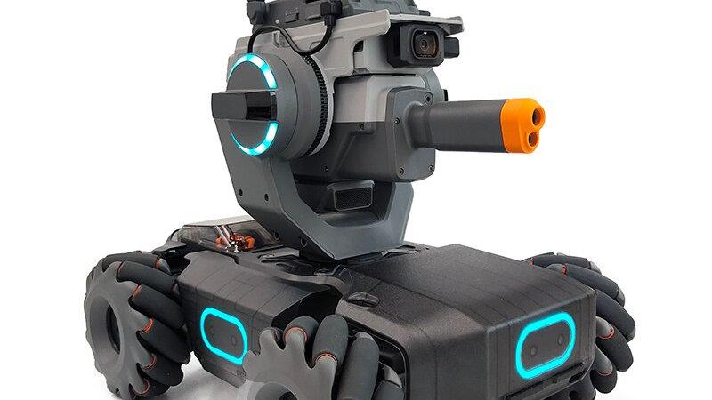 DJI RoboMaster S1 Toy Tank רובוט צעצוע חינונכי עם אינסוף אפשרויות לתכנות והרכבה
