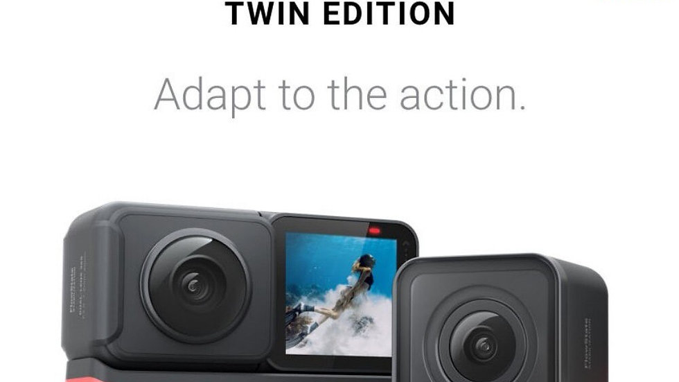 Insta360 ONE R 360 Action Camera מצלמת אקשן עם מייצב תמונה מדהים במחיר מעולה