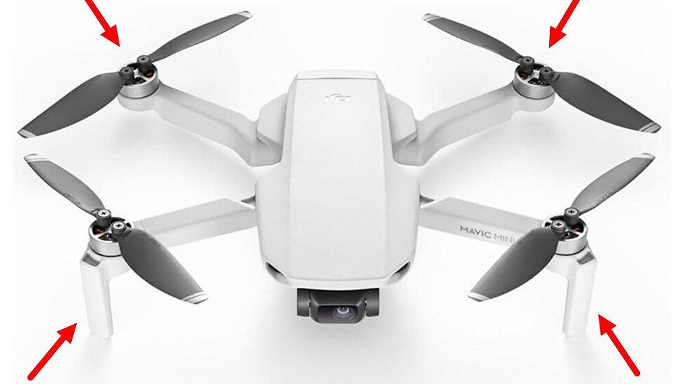 Original NEW DJI Mavic Mini Motor Arm Repair Spare Parts Replacement Drone Acces