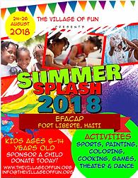 The Village of Fun - Summer Spash 2018