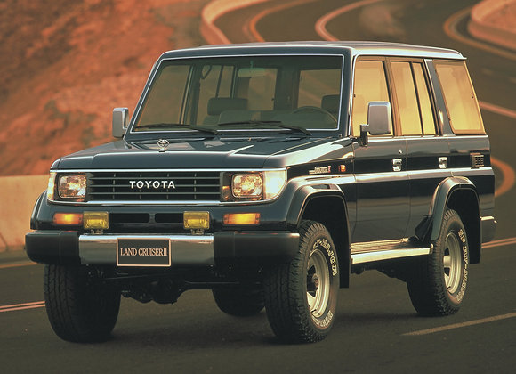 Toyota Land Cruiser Prado 1987-1996 5дв. 160 литров