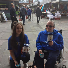 Raising awareness at Ashton Market.jpg
