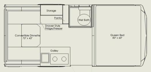 TruckHouse BCT Floor Plan