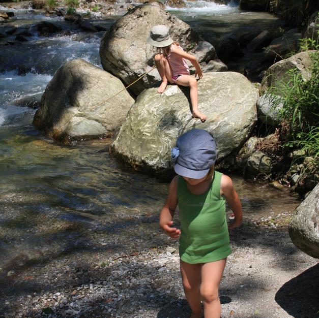 Passeggiata a fiume