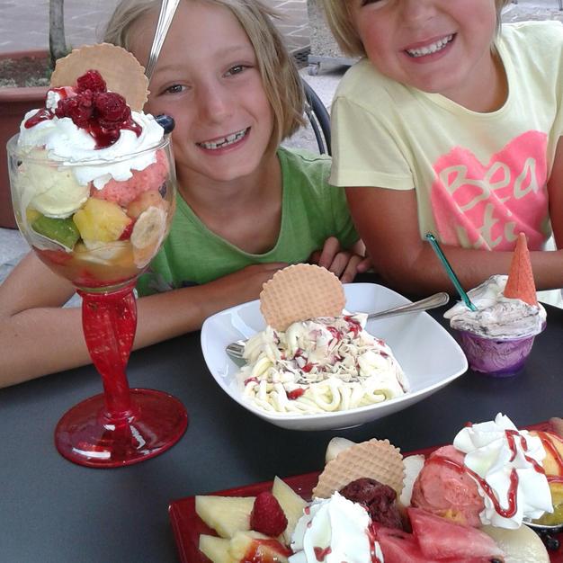 Godersi un bel gelato!!!