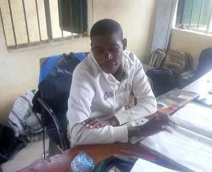 7 Questions with Shuaibu Elijah