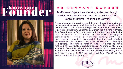 7 Questions with Devyani Kapoor