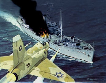U.S.S. Liberty Anniversary - June 8, 1967 - We Are Not Going To War Over A Bunch Of Dead Sailors