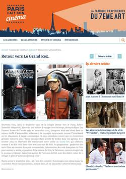 Paris fait son cinéma