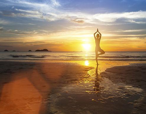 Meditation, Yoga, Relaxation Ibiza, Sunset Beach