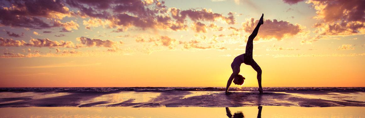 Yoga, Beach, Sunset, Ibiza