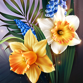 Dance of the Daffodils_Minis_Collection_