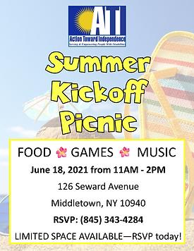 Summer kickoff flyer