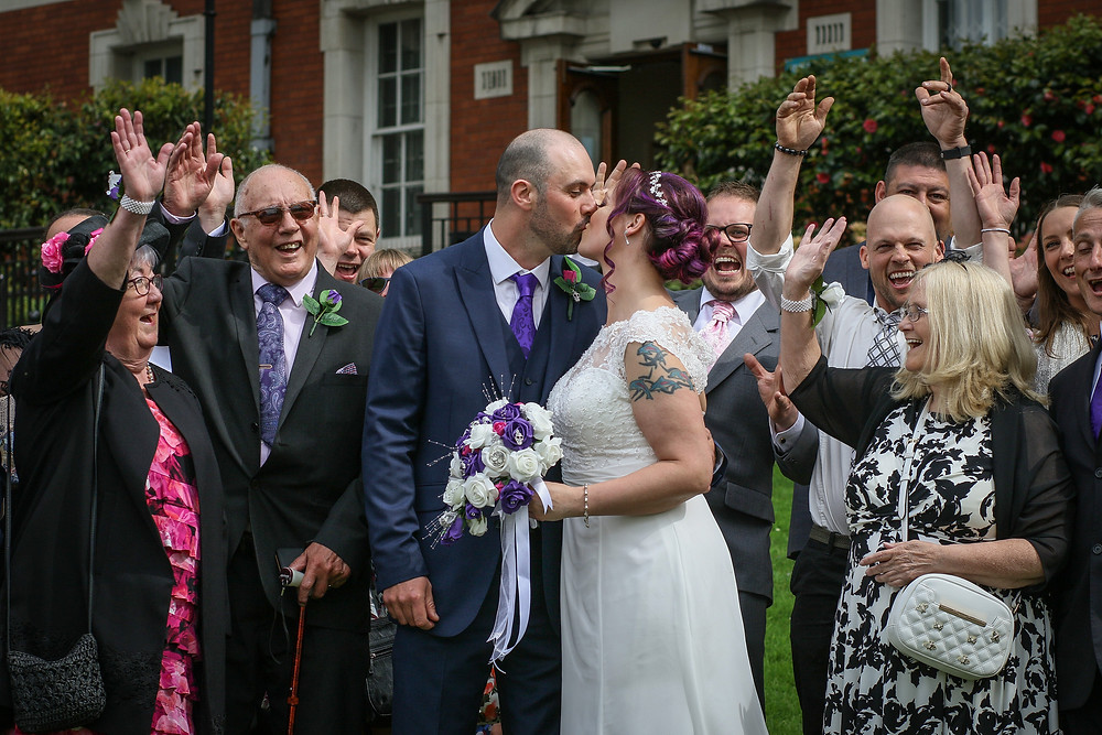 Wedding photography at Chadkirk Chapel
