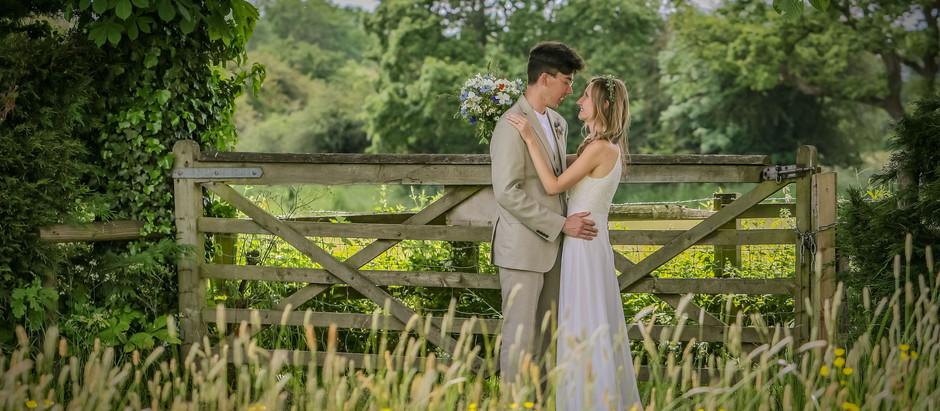 Chester Garden Wedding - Naomi and Alex