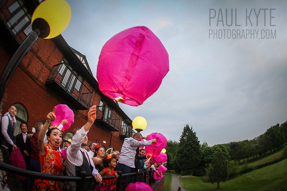 Macdonald Hill Valley Hotel Wedding Lanterns