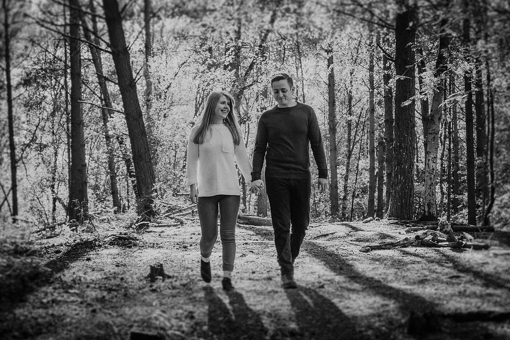 Delamere Forest, Cheshire Wedding Photography by Paul Kyte