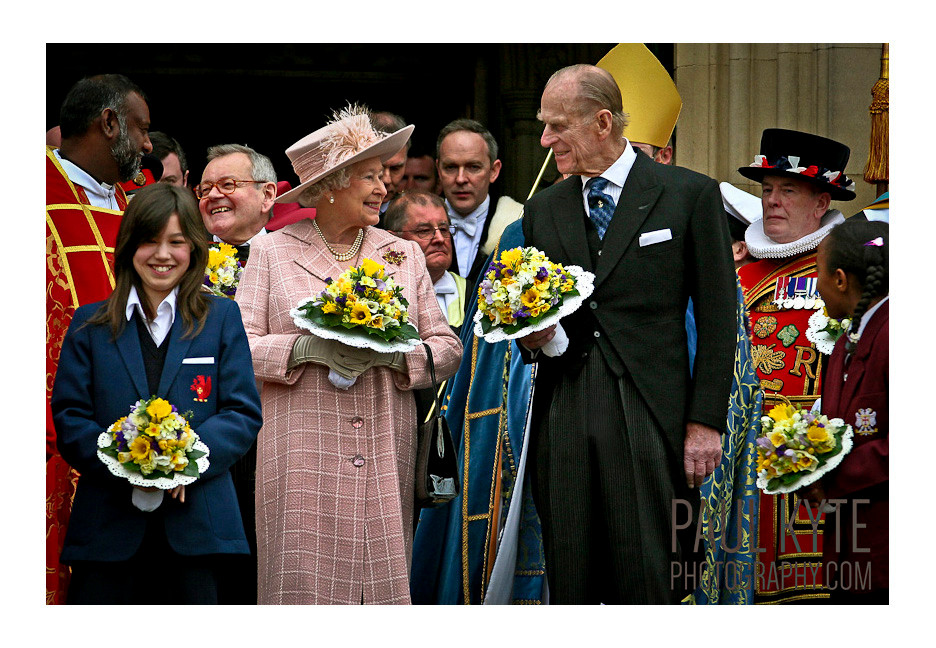 The Queen and Prince Philip, Manchester