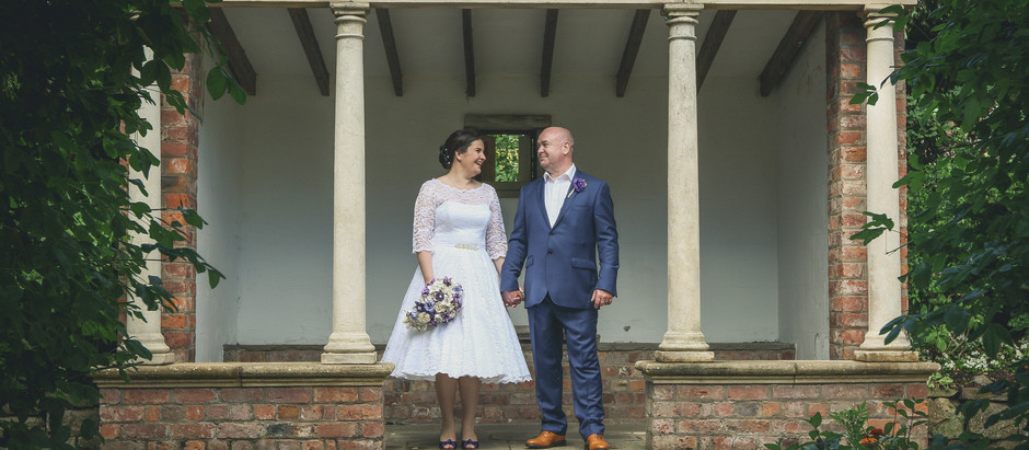 Willington Hall, Cheshire - The Wedding of Kerry and Lawrence.