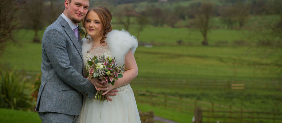 The Ashes Barn, Endon - The wedding of Rhea and Ben