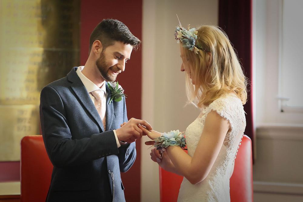 Runcorn Town Hall Wedding - Cheshire Wedding Photography by PK Photography