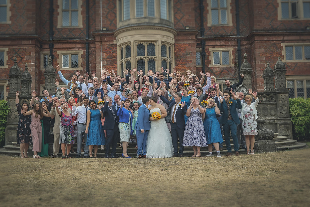 Cheshire Wedding Photography at Crewe Hall