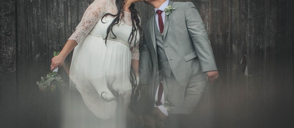 The Plough Inn, Eaton - The wedding of Thomas and Katherine.