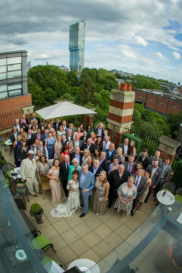 Weddings at Great John Street Hotel, Manchester