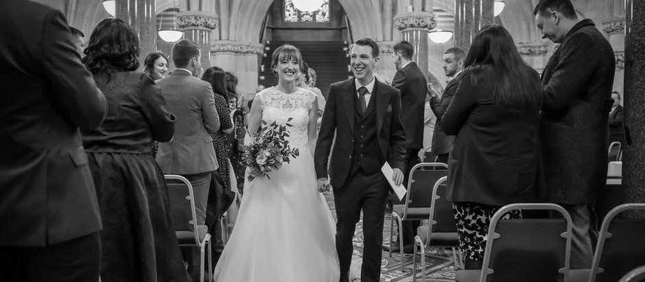 Rochdale Town Hall - The Wedding of Karen and Adam.