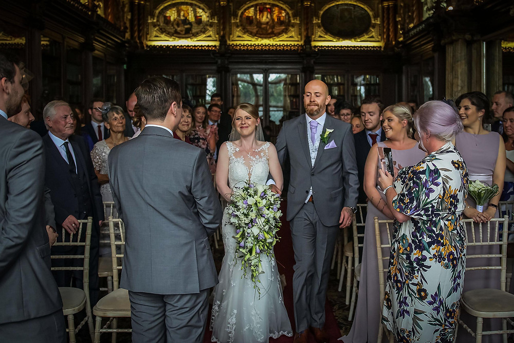 Crewe Hall Wedding - Cheshire Wedding Photography by Paul Kyte.