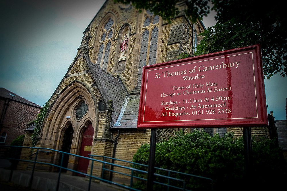 St.Thomas of Canterbury Church in Waterloo, Liverpool