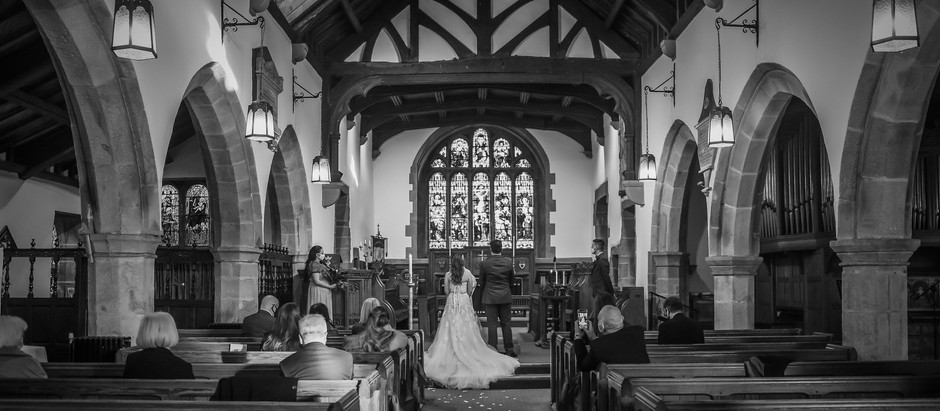 St.Mary's Church, Goosnargh near Preston - The Wedding of Heidi and Dale