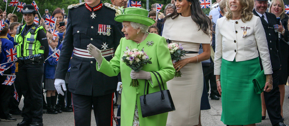 Queen Elizabeth II visit to Cheshire