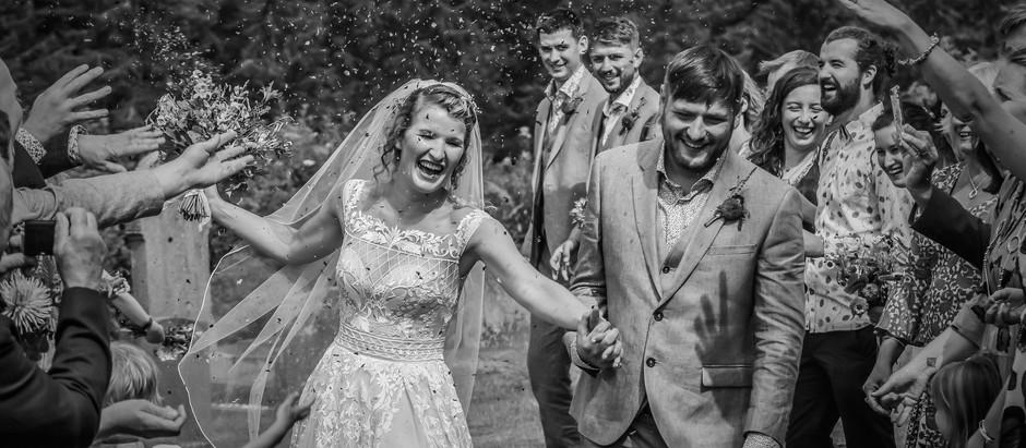 St. Mary's Church, Welshpool - The Wedding of Heidi and Thomas