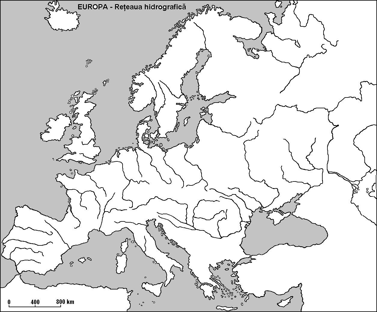 Harta Rauri Europa