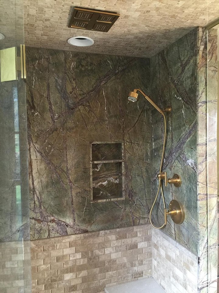 Rainforest Green Shower