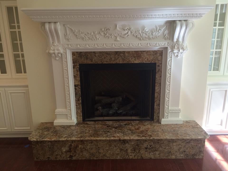 Fireplaces Custom Countertops Owensboro Ky Unique