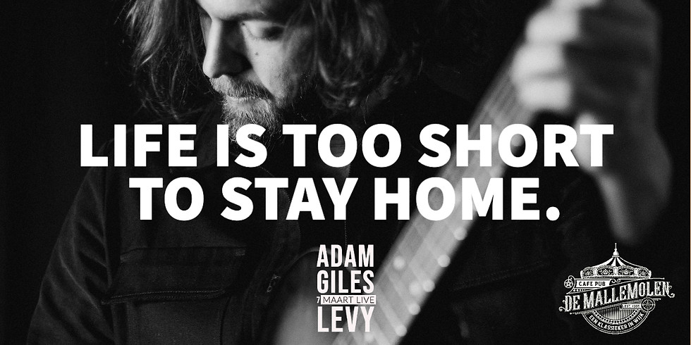 Adam Giles Levy live!